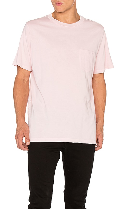 T by Alexander Wang S/S Tee in Pink