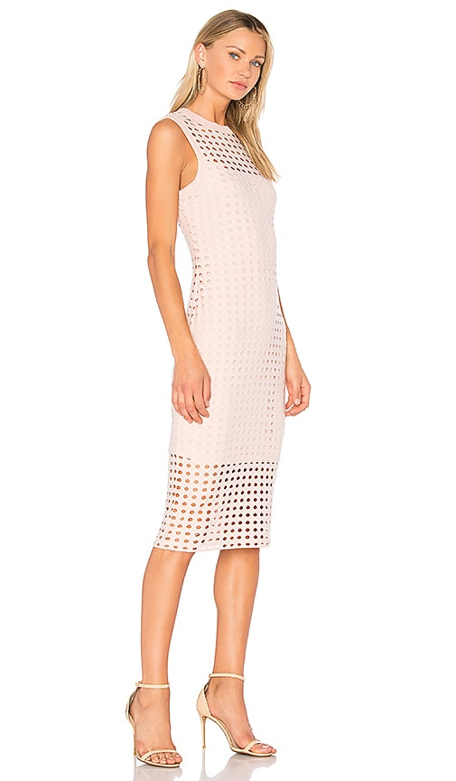 T by Alexander Wang Fitted Tank Dress in Blush