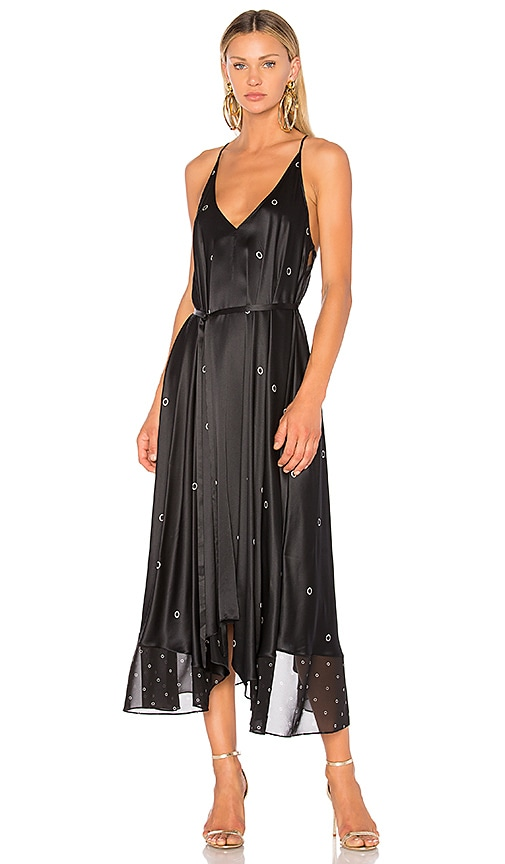 T by Alexander Wang Trapeze Dress in Black