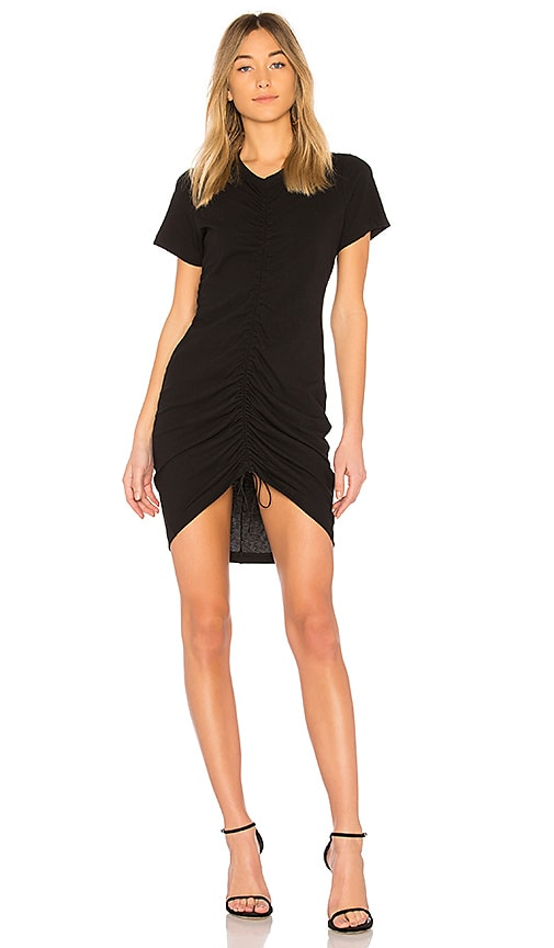 T by Alexander Wang High Twist Dress in Black