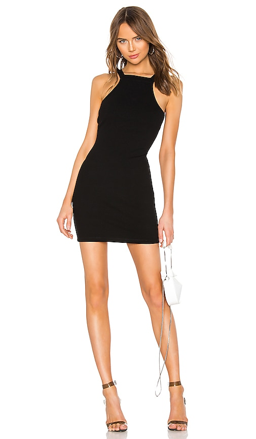 Varigated Compact Jersey Dress