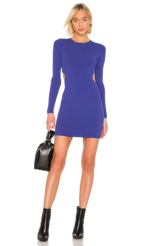 T By Alexander Wang Bodycon Long Sleeve Dress In Blue Revolve Free & fast shipping on orders $50+, afterpay and easy returns. revolve