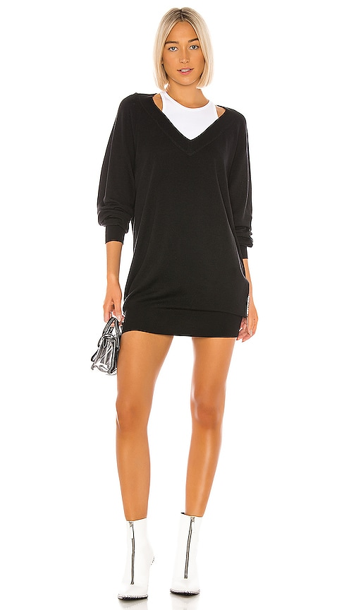 Bi Layer Sweater Dress by T By Alexander Wang
