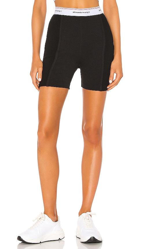 Wash & Go Rib Biker Shorts