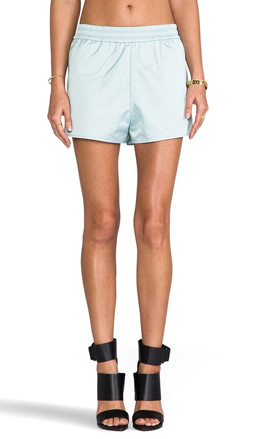 Satin Track Shorts