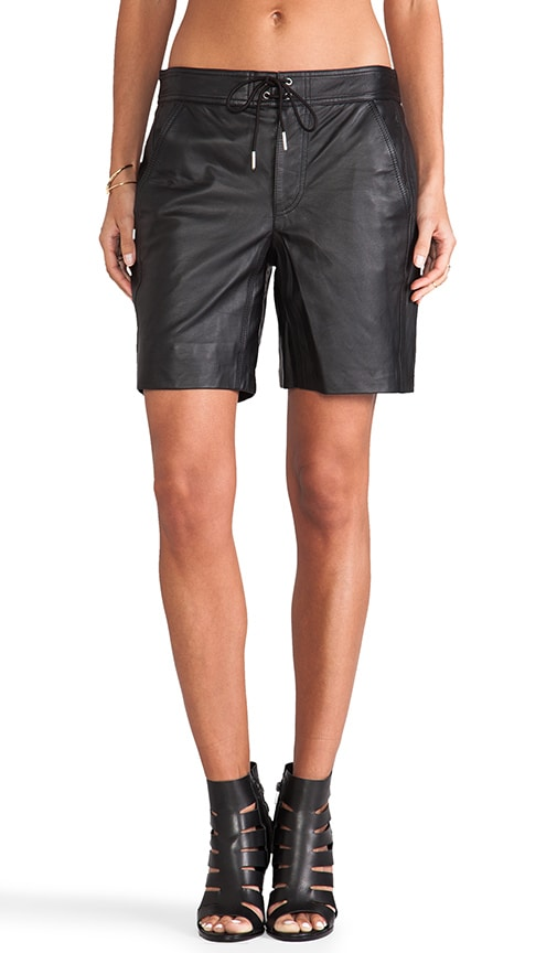 Lightweight Leather Boardshorts