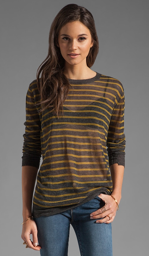 Stripe Torquing Sweater