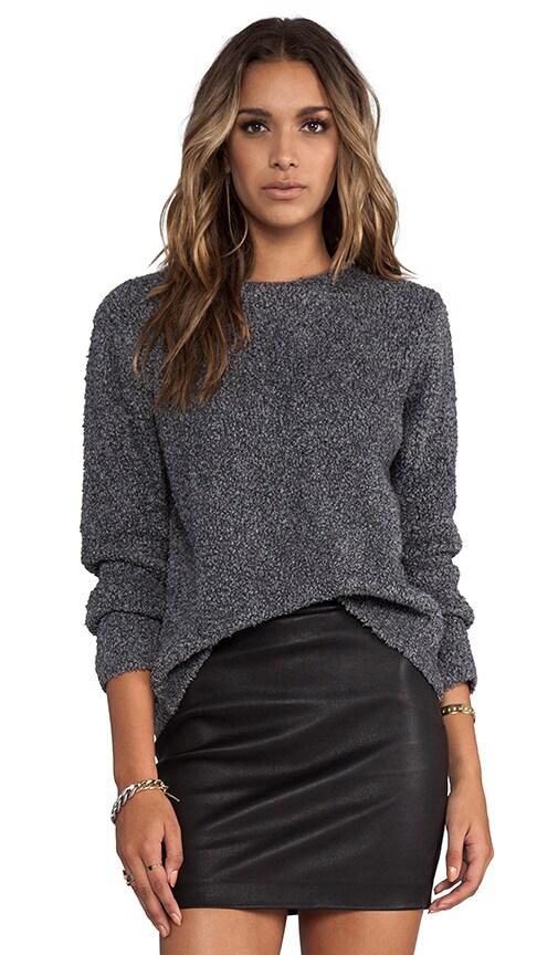 Slub Wool Knit Pullover