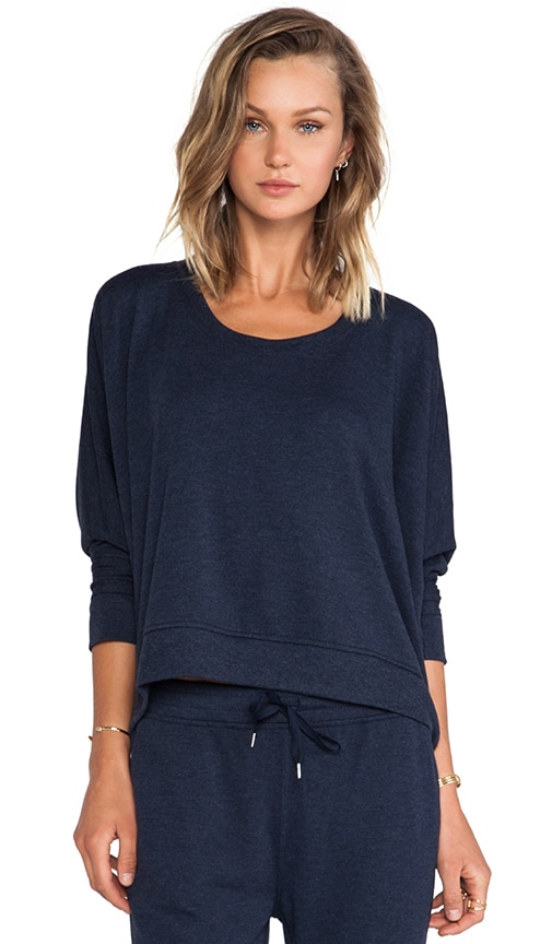 Enzyme Washed French Terry Sweatshirt