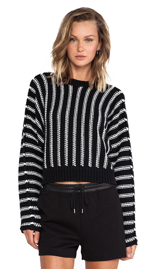 Chunky Cotton Dolman Long Sleeve Pullover