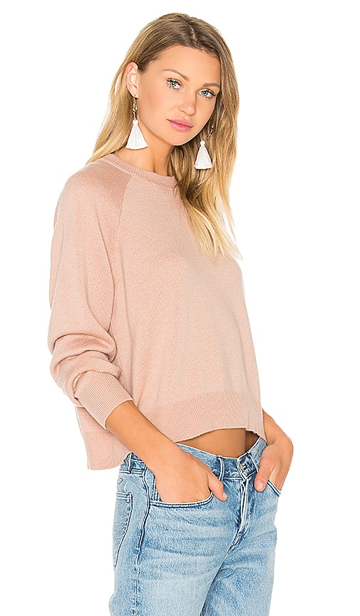 Crew Neck Crop Sweater