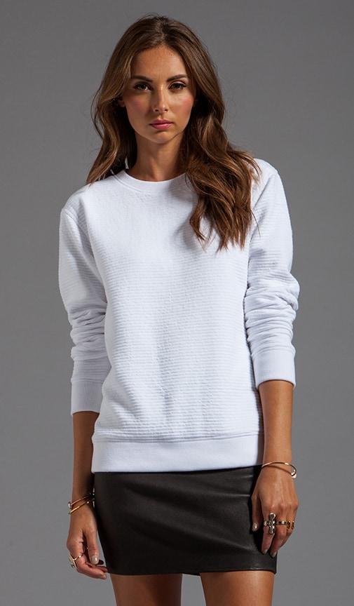 Ottoman Double Knit Sweatshirt