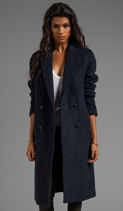 Double Sided Wool Blendcar Coat