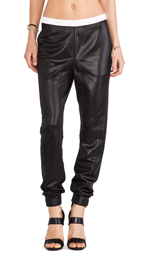 Shiny Slouch Pants