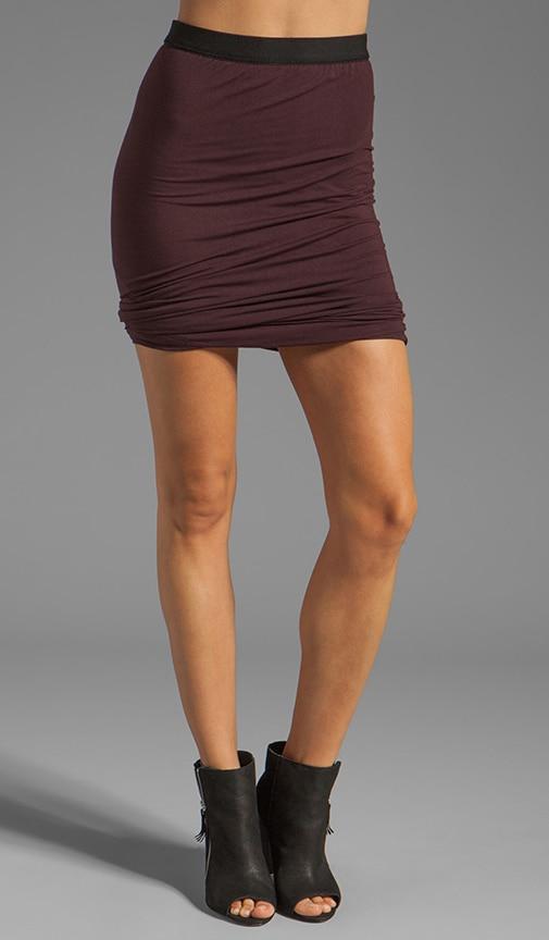 Micro Modal Spandex Twist Skirt
