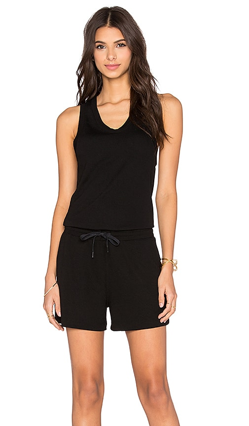 Enzyme Washed French Terry Romper