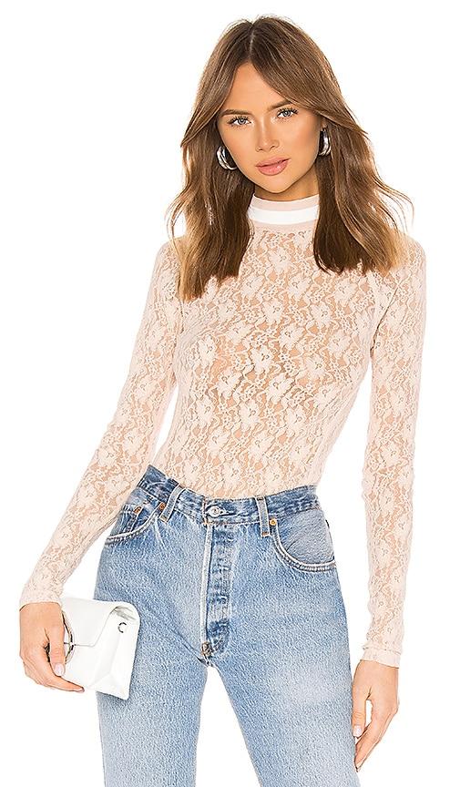 Stretch Lace Bodysuit