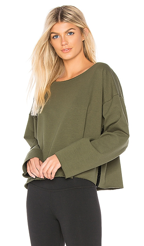 Touche LA Melrose Pullover in Olive