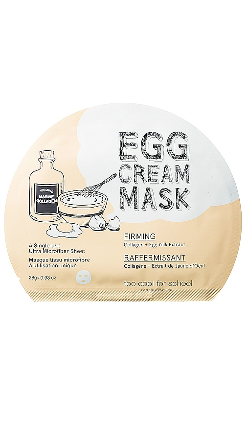 Egg Cream Mask (Firming)