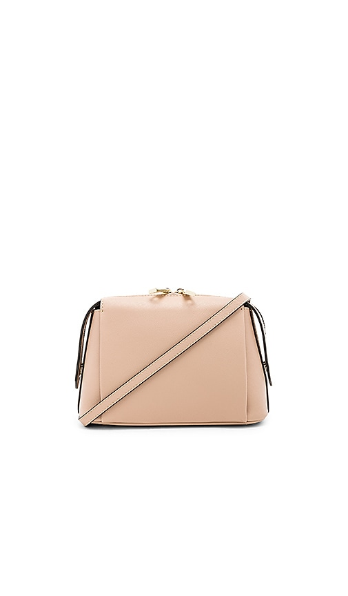 the daily edited Structured Crossbody Bag in Taupe
