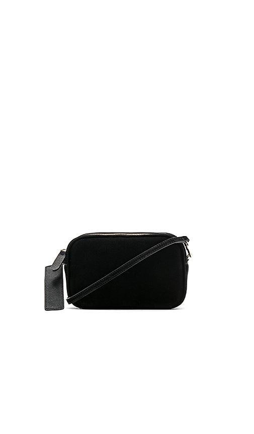 Suede Mini Crossbody Bag