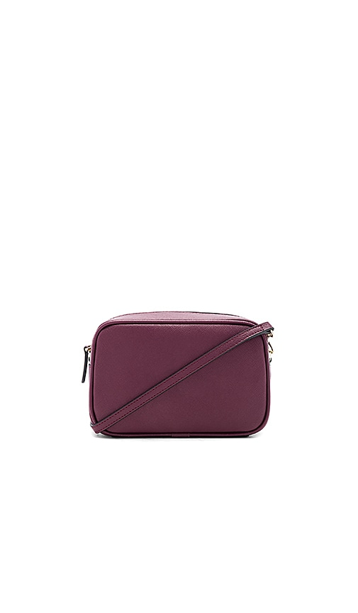 the daily edited Mini Cross Body Bag in Burgundy