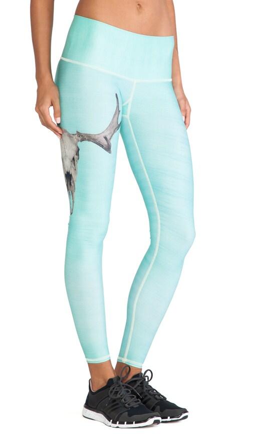 5ae18b82a82de4 Teeki Deer Medicine Hot Pant in Turquoise | REVOLVE