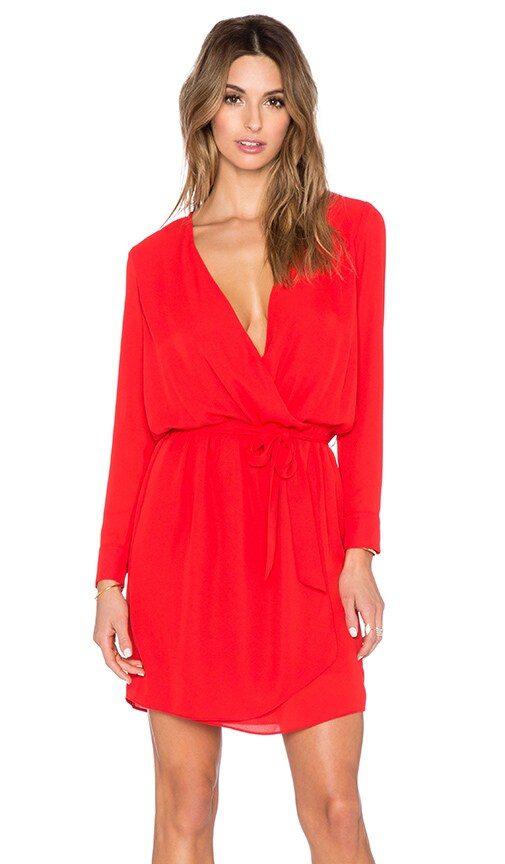 Lana Surplice Dress
