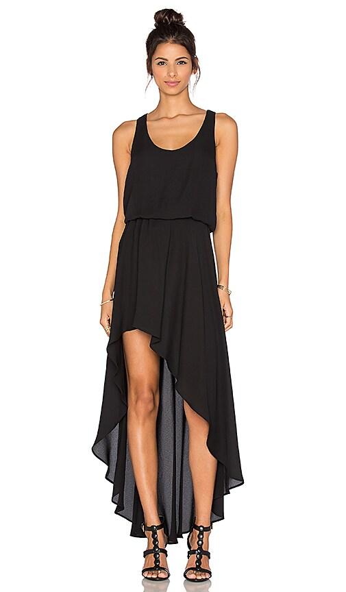 Three Eighty Two Ariel Maxi Dress in Black