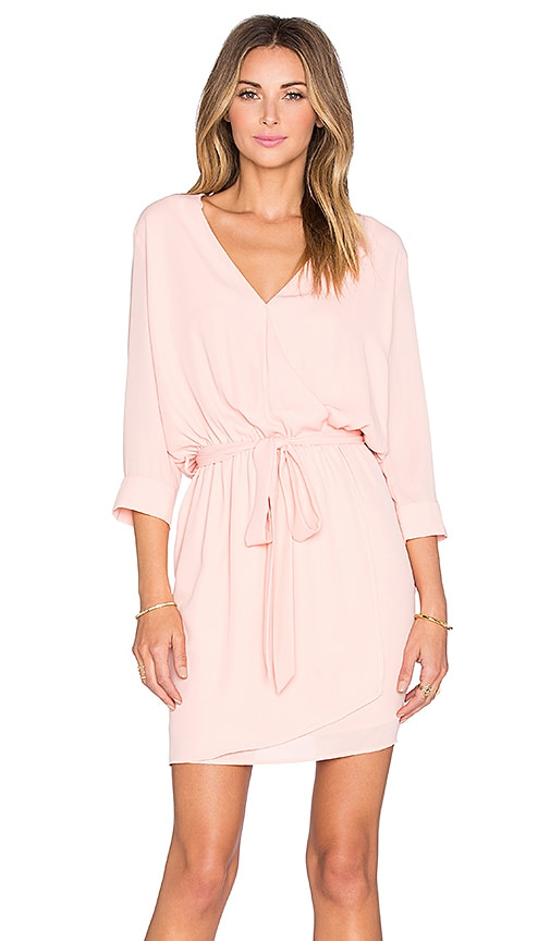 Mia 3/4 Surplice Dress
