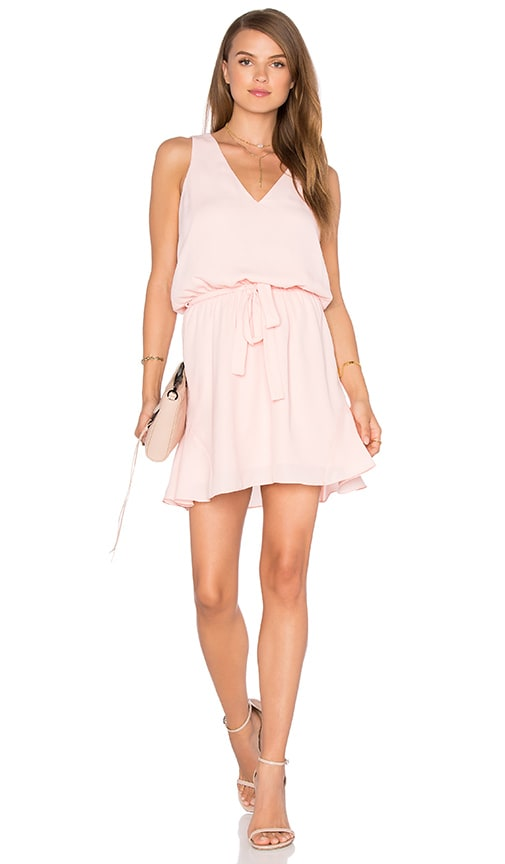 Three Eighty Two Harper Mini Dress in Pink