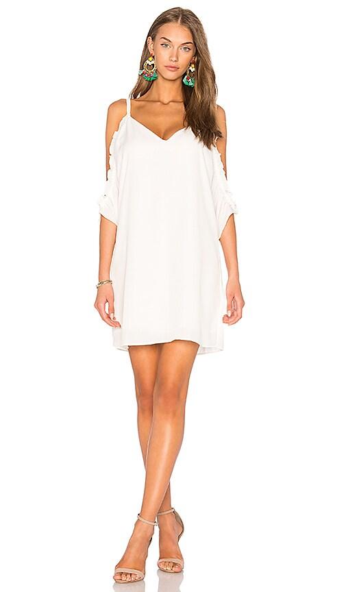 Three Eighty Two Gigi Dress in White