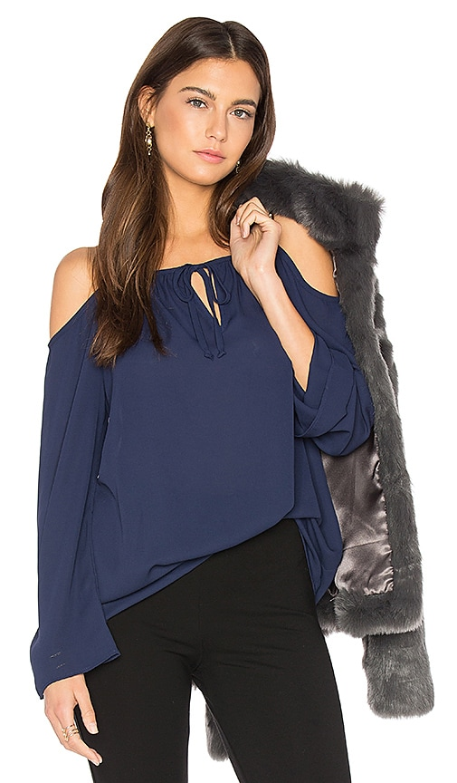 Payton Cold Shoulder Top