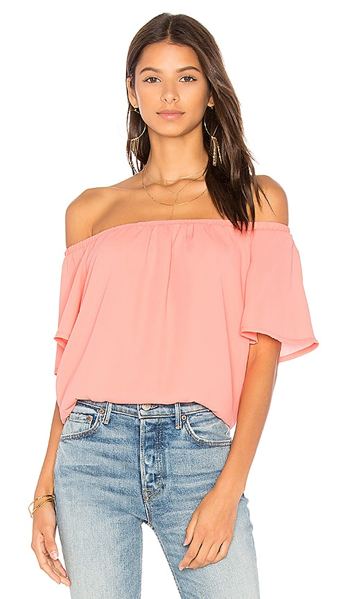 Three Eighty Two Eli Top in Coral