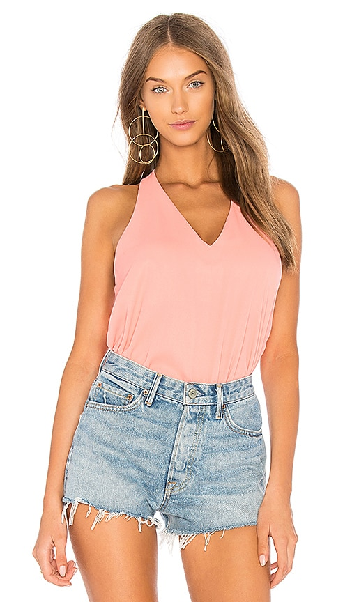Three Eighty Two Owen Tank in Coral