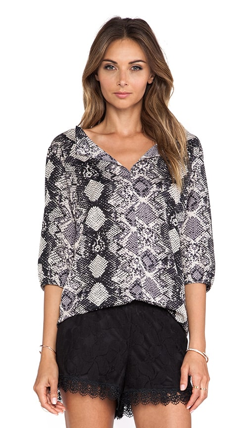 Madison Peasant Top