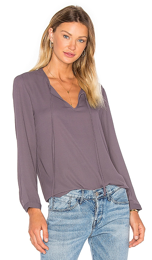 Three Eighty Two Bryce Tunic in Gray
