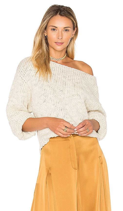 Tejido Dolman Sweater in Beige