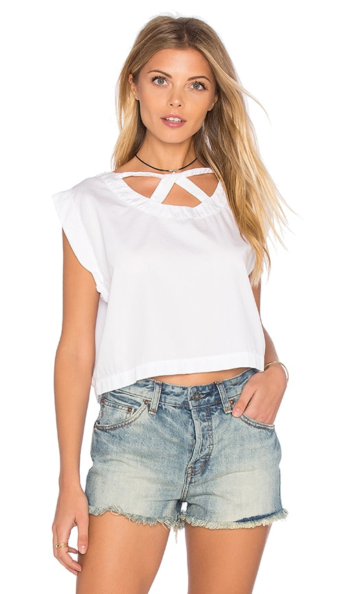 Cut Out Crop Top