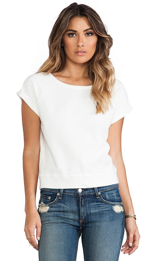 Short Sleeve Perfect Sweatshirt