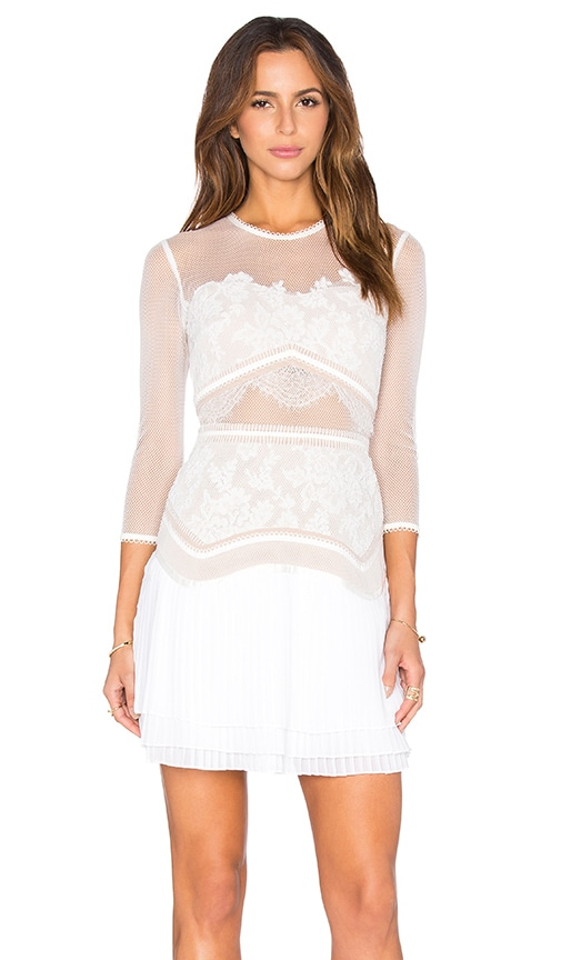 Seascape Lace Dress