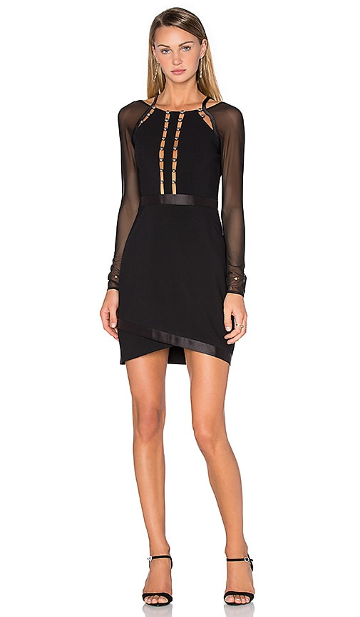 Three Floor Take Charge Dress in Black