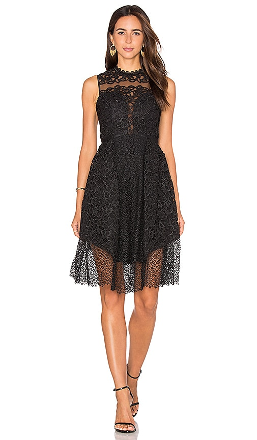 Three Floor Sloan Dress in Black