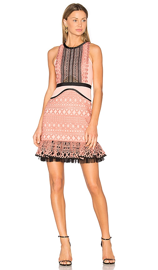 Three Floor Sun Down Dress in Pink