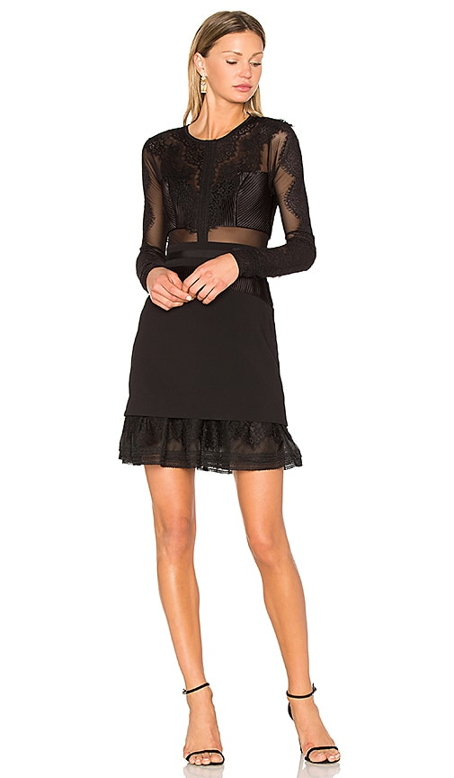 Three Floor Bonjour Dress in Black