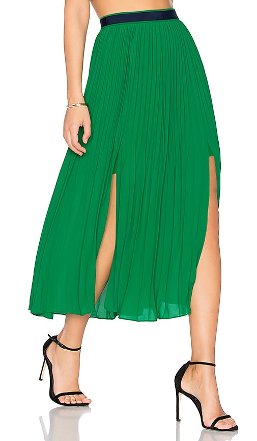 Three Floor Envy Skirt in Green
