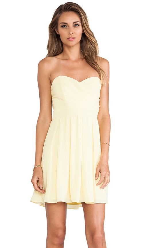 Elida Strapless Dress
