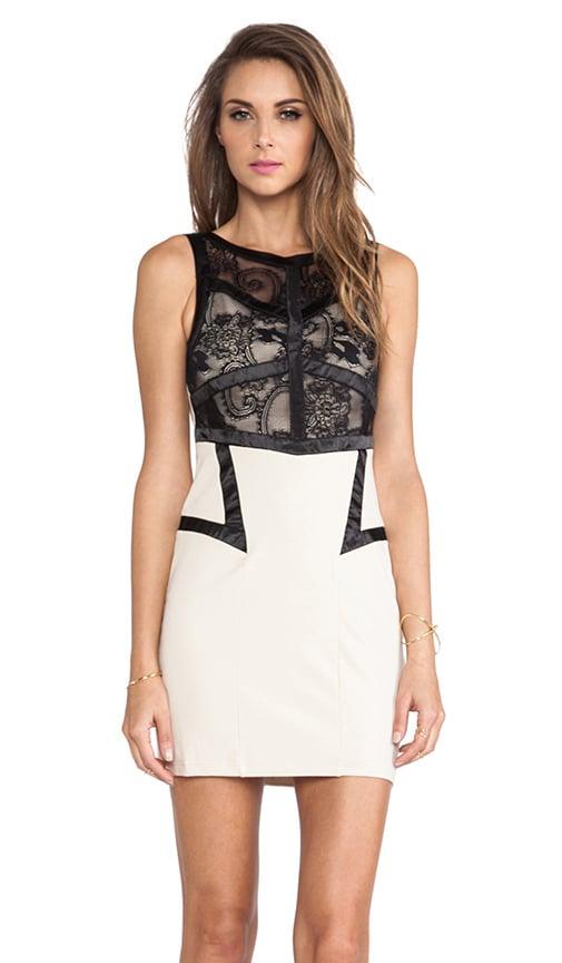 Gilanna Mini Lace Dress