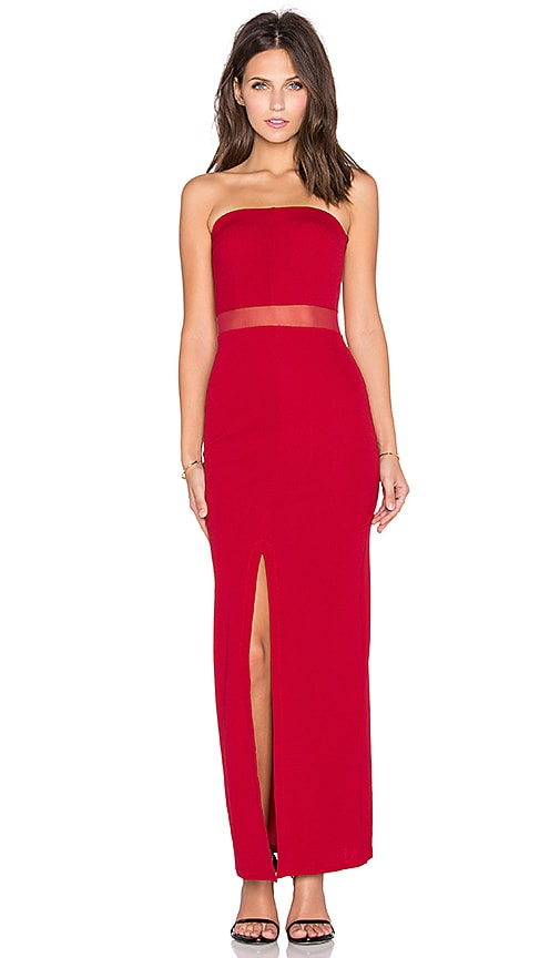 TFNC London Mamya Maxi Dress in Red