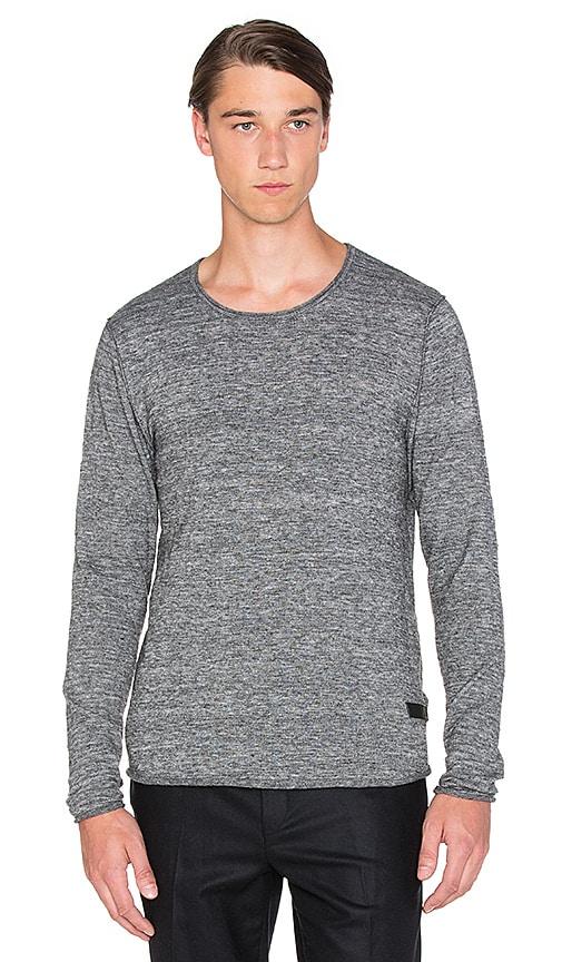Tiger of Sweden Rip Sweater in Grey Melange
